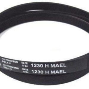 Ремень привода барабана 1230H8 (1230 H8) для стиральных машин Candy 41003164 BLH318UN, 41003164